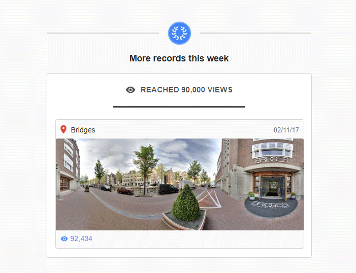 Restaurant Bridges in Amsterdam door MediaSignaal